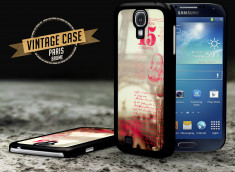 Coque Samsung Galaxy S4 Vintage Case - Paris Brume