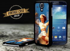 Coque Samsung Galaxy S4 Vintage Case - Sailor Girl