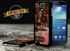 Coque Samsung Galaxy S4 Vintage Case - Streets Of NYC