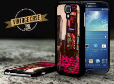 Coque Samsung Galaxy S4 Vintage Case - Times Square