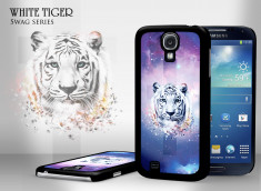 Coque Samsung Galaxy S4 Swag Series - White Tiger