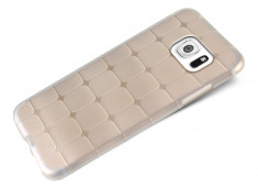 Coque Samsung Galaxy S6 Flex Clear Square