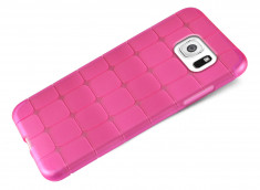 Coque Samsung Galaxy S6 Flex Pink Square