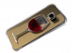 Coque Samsung Galaxy S6 Edge Verre de Vin