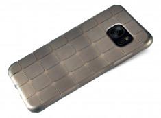 Coque Samsung Galaxy S7 Edge Flex Black Square
