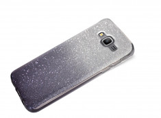 Coque Samsung Galaxy Grand Prime Glitter Wave-Noir