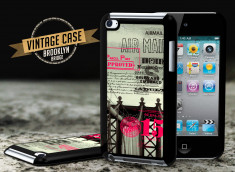 Coque iPod Touch 4 Vintage Case - Brooklyn Bridge