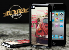 Coque iPod Touch 4 Vintage Case - Beetle Spirit