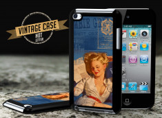 Coque iPod Touch 4 Vintage Case - Hot Letter