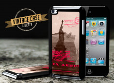 Coque iPod Touch 4 Vintage Case - Liberty