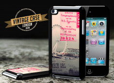 Coque iPod Touch 4 Vintage Case - London View