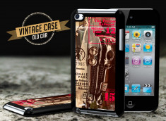 Coque iPod Touch 4 Vintage Case - Old Car