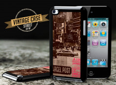 Coque iPod Touch 4 Vintage Case - Street of NY