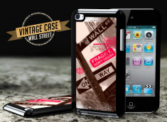 Coque iPod Touch 4 Vintage Case - Wall Street