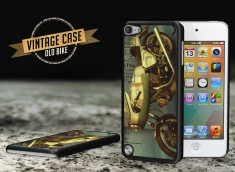 Coque iPod Touch 5 Vintage Case -Old Bike