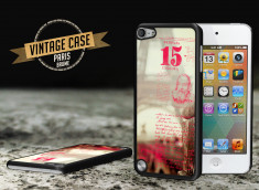Coque iPod Touch 5 Vintage Case -Paris Brume