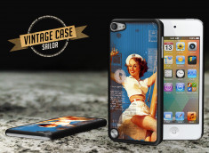 Coque iPod Touch 5 Vintage Case - Hot Letter Pin Up