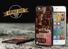 Coque iPod Touch 5 Vintage Case - Street of NY