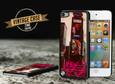 Coque iPod Touch 5 Vintage Case - Time Square