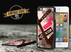 Coque iPod Touch 5 Vintage Case - Wall Street