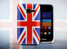 Coque Samsung Galaxy Wave Y - UK Flag