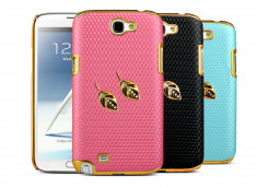 Coque Samsung Galaxy Note 2 Golden Honeycomb