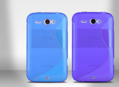 Coque HTC Chacha Silicone Grip Color