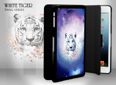 Coque/Etui Smart Cover iPad Mini Swag Series - White Tiger