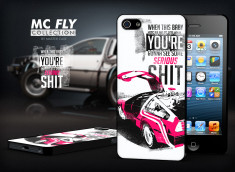 Coque iPhone 5/5S Back To The Future-Modèle 2