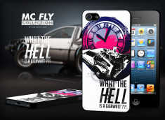 Coque iPhone 5/5S Back To The Future-Modèle 3