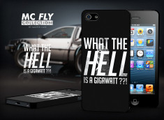 Coque iPhone 5/5S Back To The Future-Modèle 5
