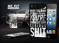 Coque iPhone 5/5S Back To The Future-Modèle 6