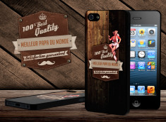 Coque iPhone 5 Vintage Best Father