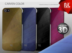 "Coque iPhone 5 ""Nil Collection"" Color Carven"