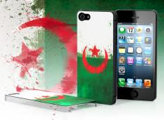 Coque iPhone 5 Drapeau Grunge - Algérie