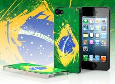 Coque iPhone 5 Drapeau Brésil