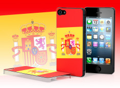 Coque iPhone 5 Drapeau Espagne