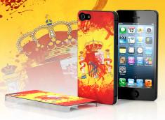 Coque iPhone 5 Drapeau Grunge - Espagne