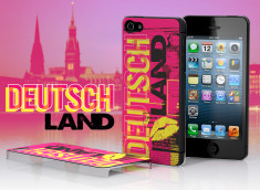 Coque iPhone 5 Lips Flag - Allemagne