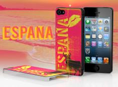Coque iPhone 5 Lips Flag - Espagne
