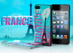 Coque iPhone 5 Lips Flag - France