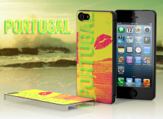 Coque iPhone 5 Lips Flag - Portugal