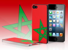 Coque iPhone 5 Drapeau Maroc