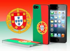 Coque iPhone 5 Drapeau Portugal