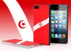 Coque iPhone 5 Drapeau Tunisie