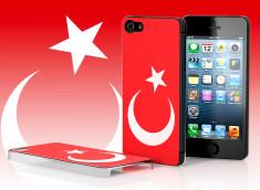 Coque iPhone 5/5S Drapeau Turquie