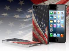 Coque iPhone 5 Drapeau USA - Pride of America