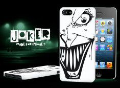 Coque iPhone 5/5S Joker-Noir