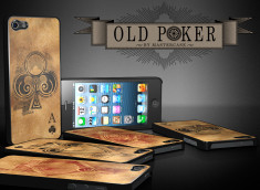 Coque iPhone 5 Old Poker