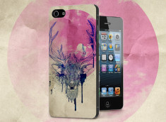 Coque iPhone 5/5S Deer Face